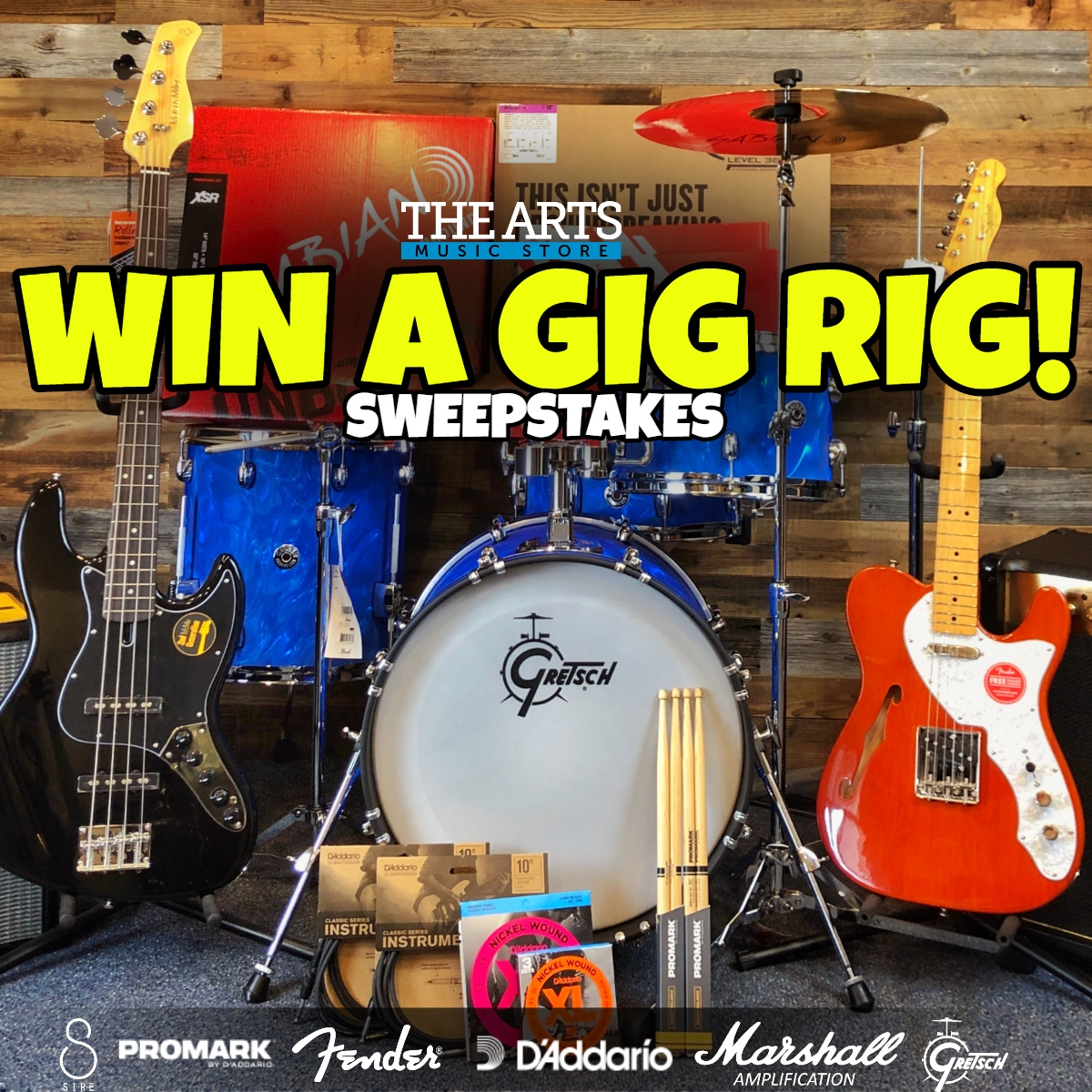 online contests, sweepstakes and giveaways - Win a Gig Rig!
