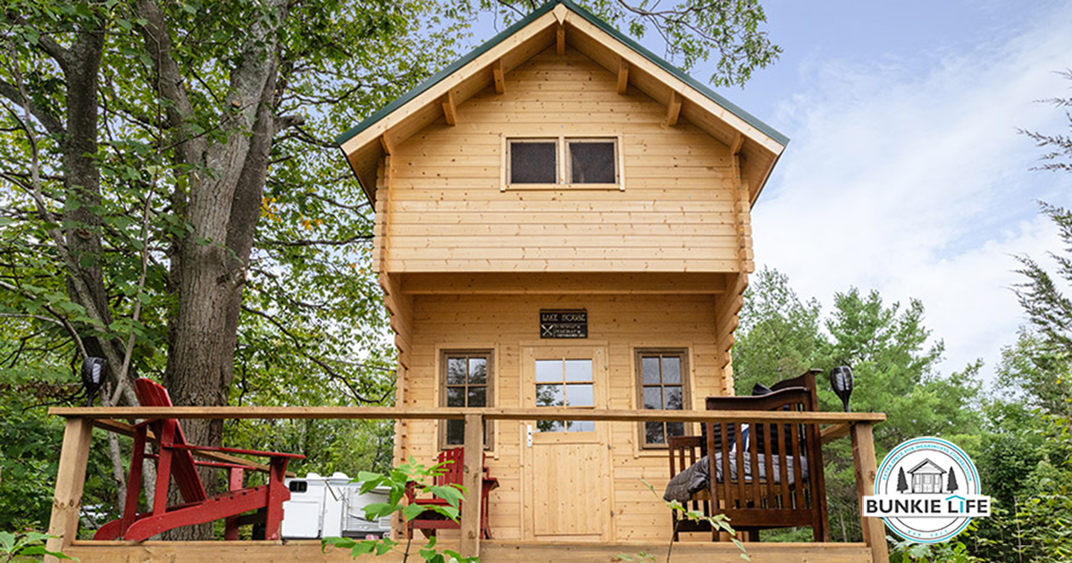 I entered to win a $12000 bunkie! You can too!