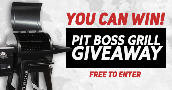 online contests, sweepstakes and giveaways - Win A Pit Boss Navigator 550