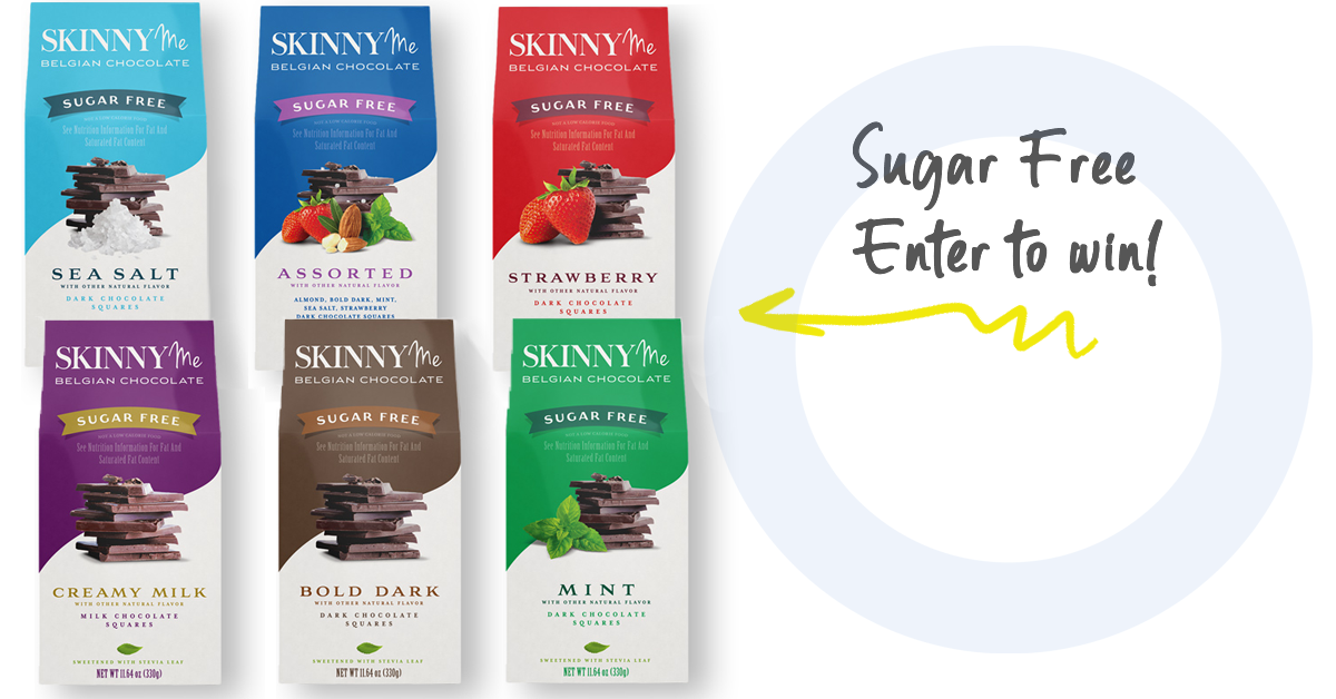 online contests, sweepstakes and giveaways - 🤤 Sugar Free Chocolate Giveaway!