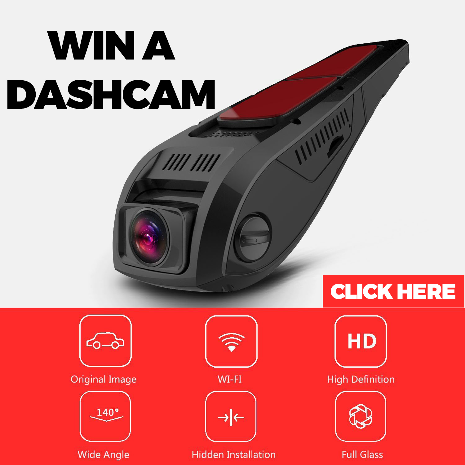WIN A DASHCAM