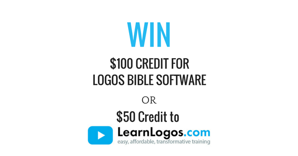 Logos bible software faithlife win 100 to logos or 50 to learnlogos fandeluxe Choice Image