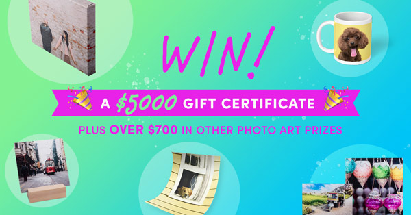 WIN $5,000 in Photo Prints from Posterjack!