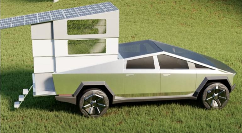 A camper/overlandr as innovative as CyberTruck.